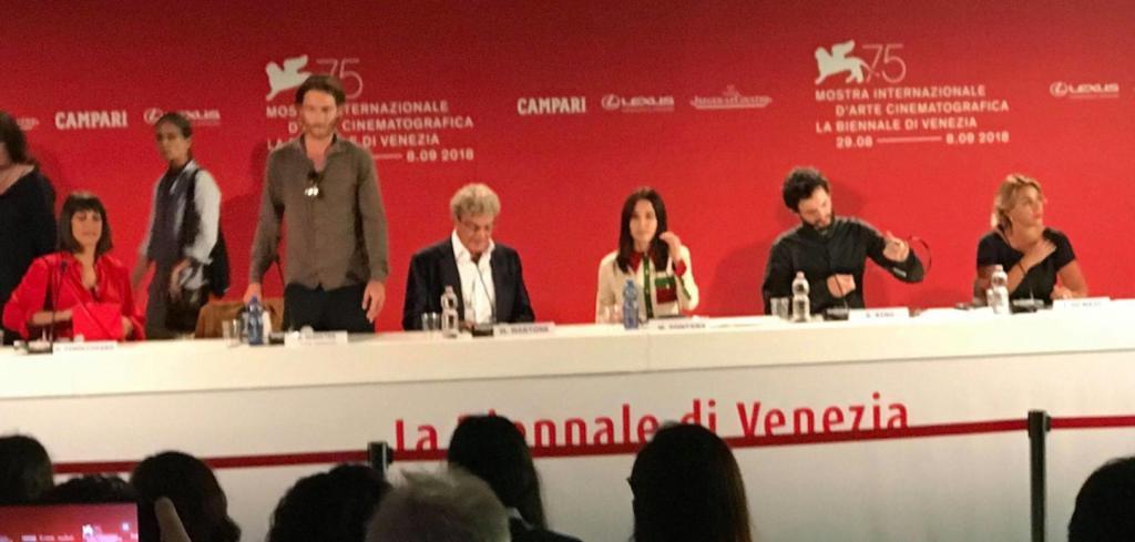 Venezia 75, Capri-Revolution: Conferenza stampa del film di Mario Martone