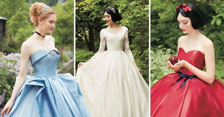 reputable site 2f5a7 2ae7f Disney: Ecco una collezione di abiti da sposa ispirata alle ...