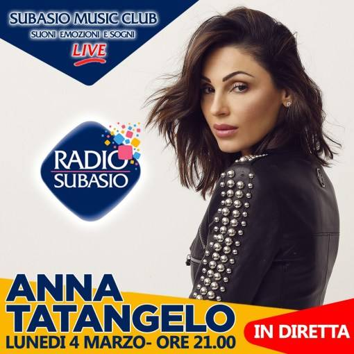 Anna Tatangelo Radio Subasio