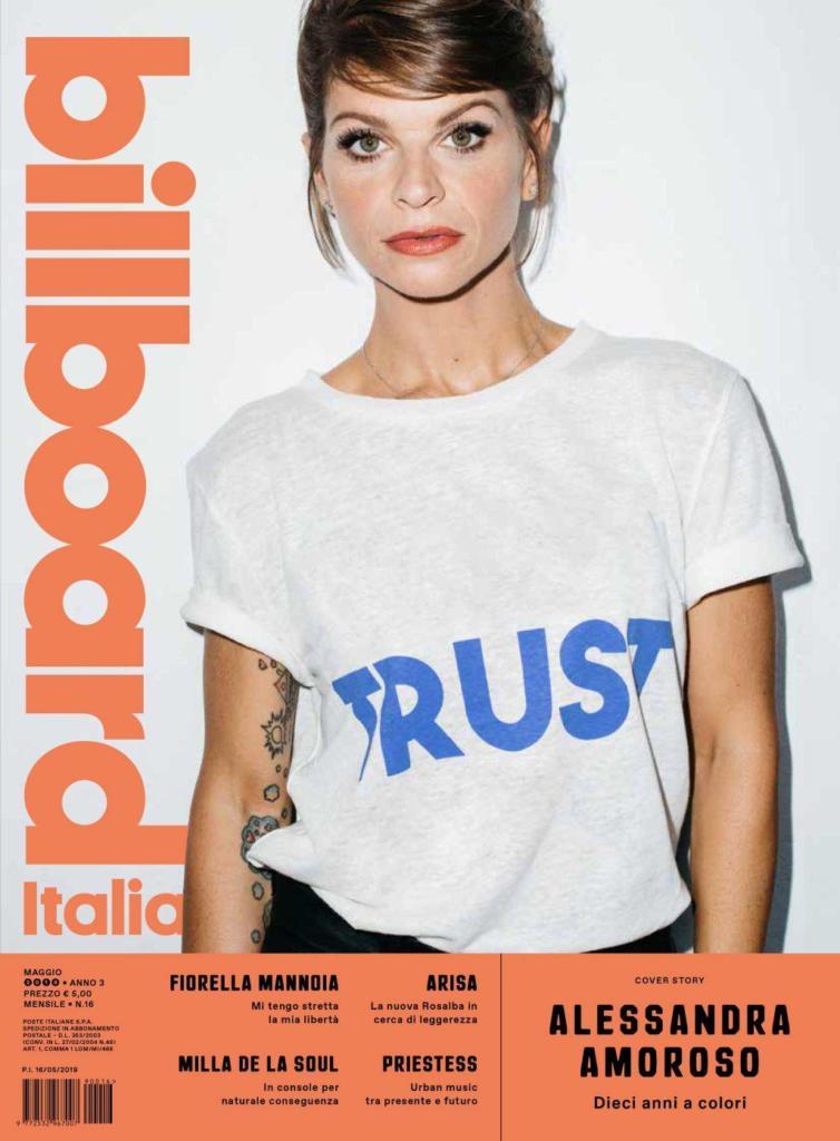 Alessandra Amoroso - Cover Billboard Italia