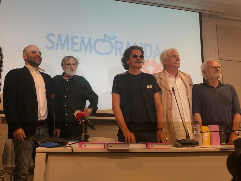Conferenza Stampa Smemoranda 2020