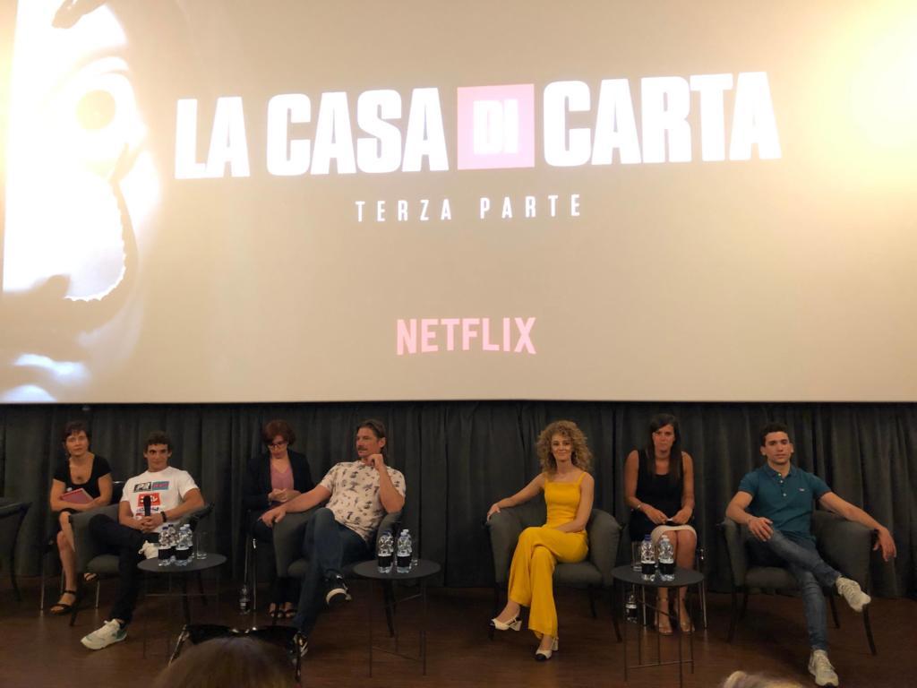 Conferenza Stampa La Casa di Carta 3 Netflix