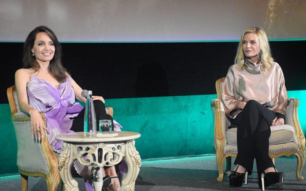Conferenza stampa Maleficent - Angelina Jolie e Michelle Pfeiffer 2