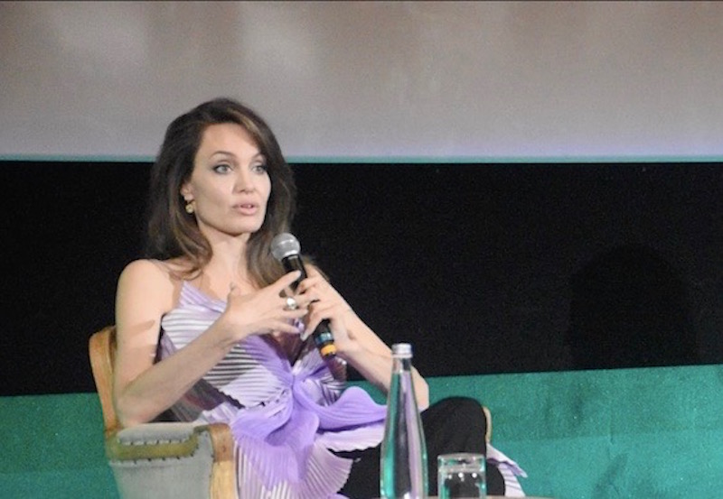 Conferenza stampa Maleficent - Angelina Jolie