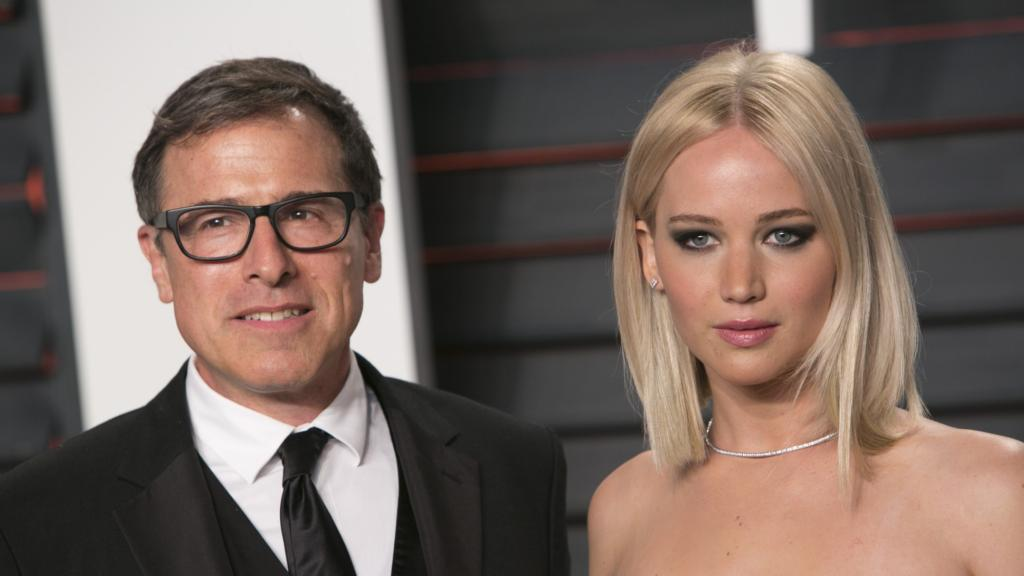 David o russell e Jennifer Lawrence