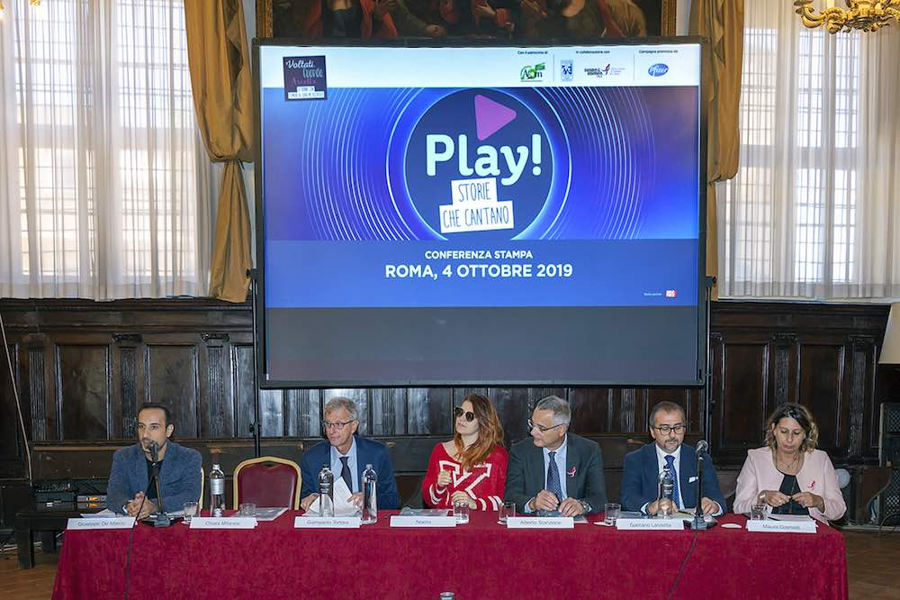 Play! Storie che cantano - conferenza stampa