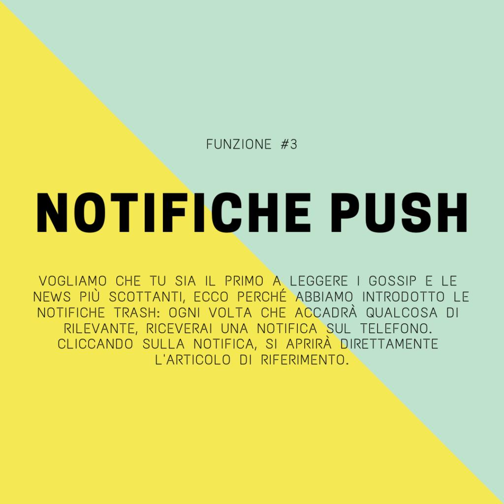 trash italiano app notifiche