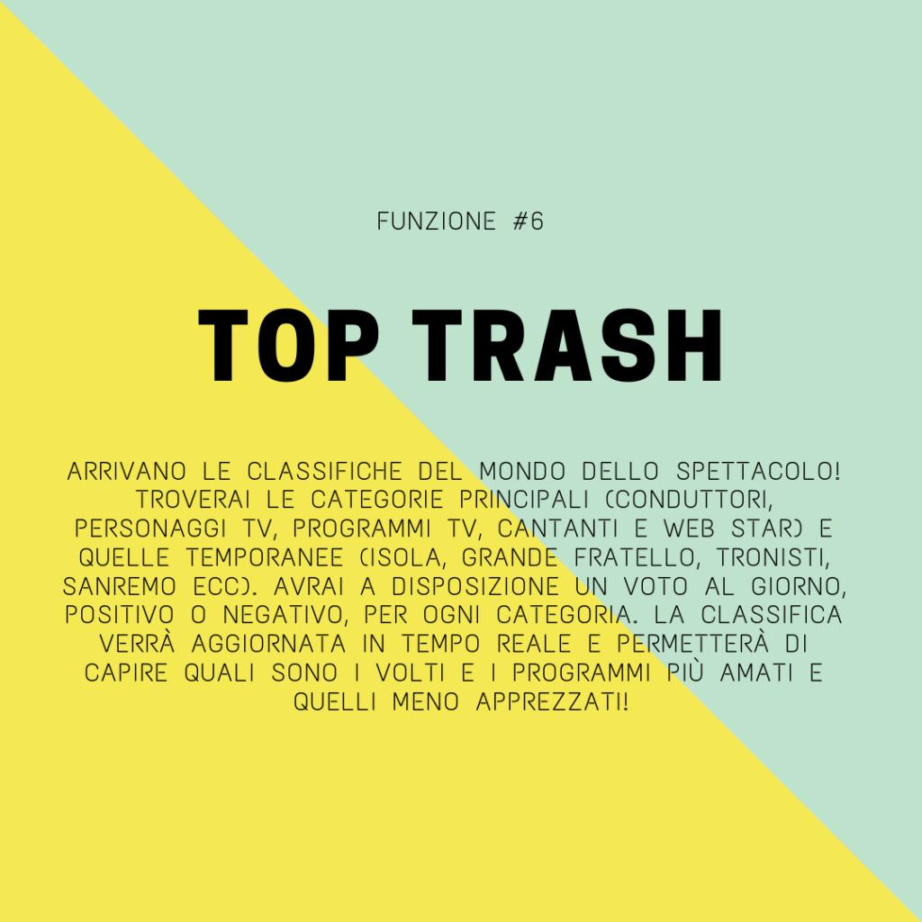 trash italiano app classifiche