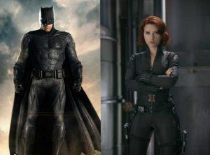 Batman e Vedova Nera