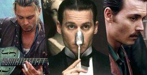 Johnny Depp in: Chocolat, Neverland - Un Sogno per la vita e Donnie Brasco