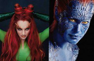 Mystica e Poison Ivy