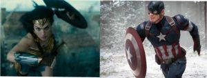 Wonder Woman e Capitan America