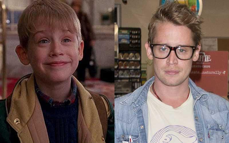 Macaulay Culkin, ieri e oggi