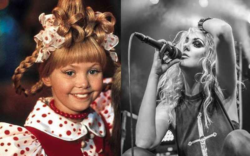 Taylor Momsen, ieri e oggi