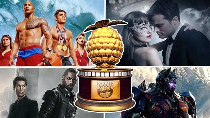 Quattro dei peggiori film del 2017.