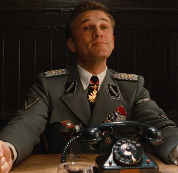 Christoph Waltz in Bastardi senza gloria