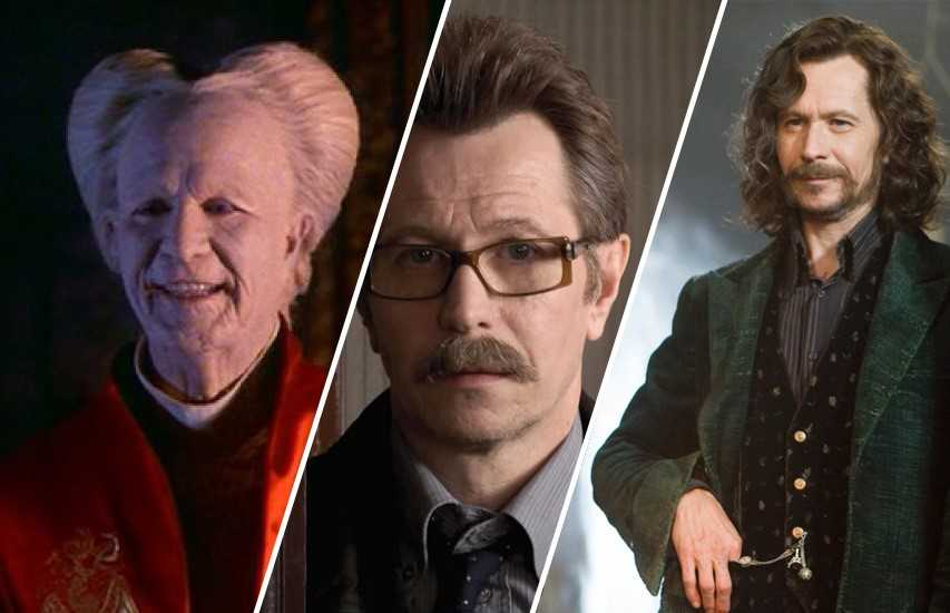 Gary Oldman in Dracula, Jim Gordon e Sirius Black.