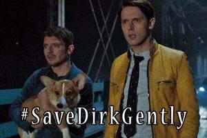 Bisogna salvare la seri Dirk Gently.
