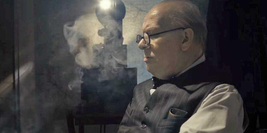 Gary Oldman nel ruolo Winston Churchill.