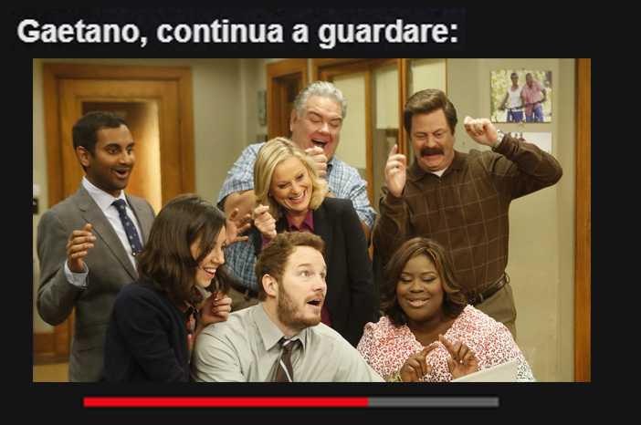 P&R on Netflix