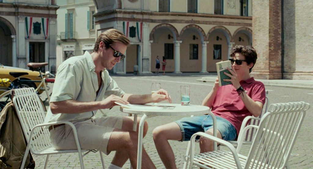 Call me by your name scena in Duomo a Crema