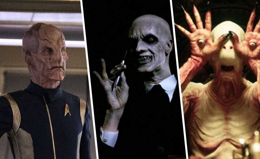 Doug Jones in Star Trek, Buffy e Pan's Labyrinth.