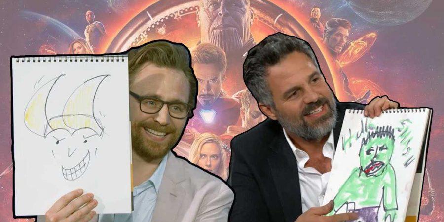 Hiddleston e Ruffalo