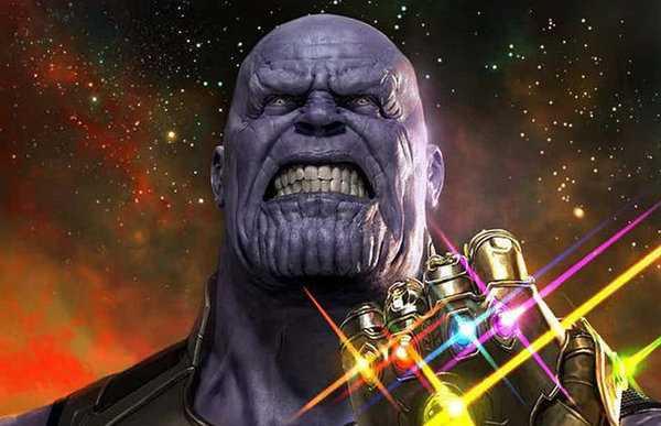 Scatto glorioso di Thanos