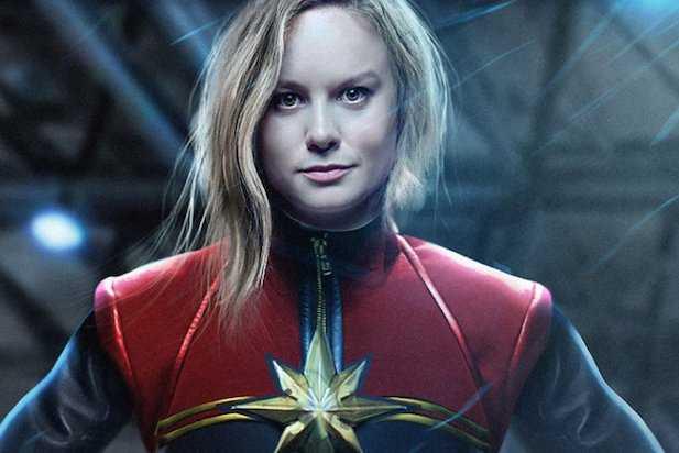 Brie Larson nei panni di Capitan Marvel