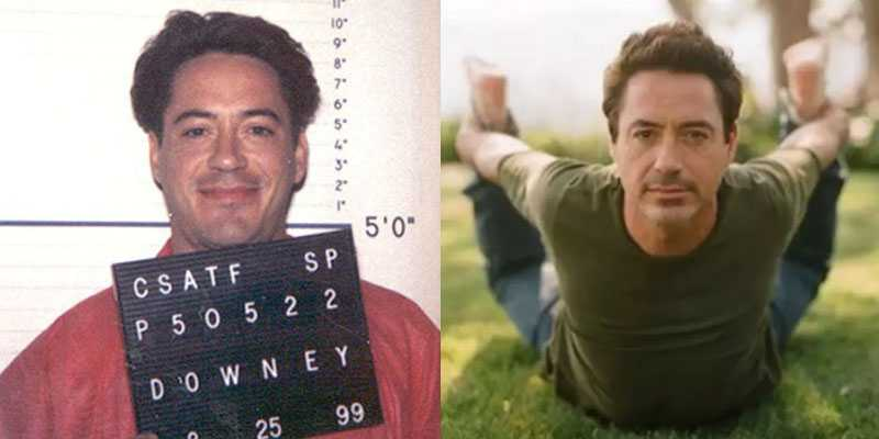 Robert Downey Jr Yoga