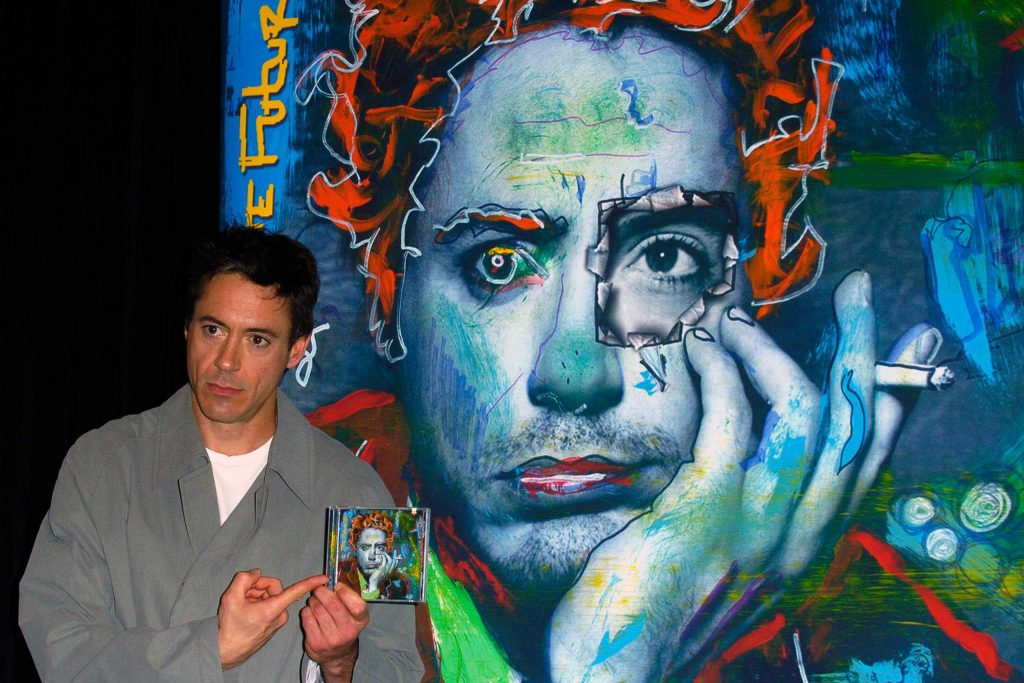 Robert Downey Jr. The Futurist