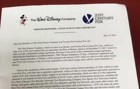 Disney Fox Letter Reddit