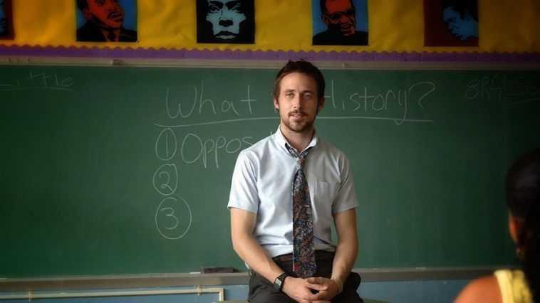 Ryan Gosling insegnante