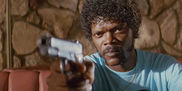 Samuel. L. Jackson. in Pulp Fiction