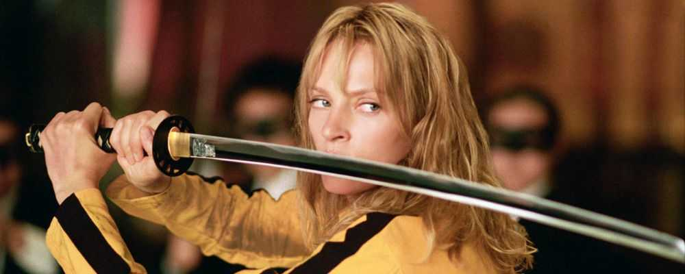 Uma Thurma in Kill Bill