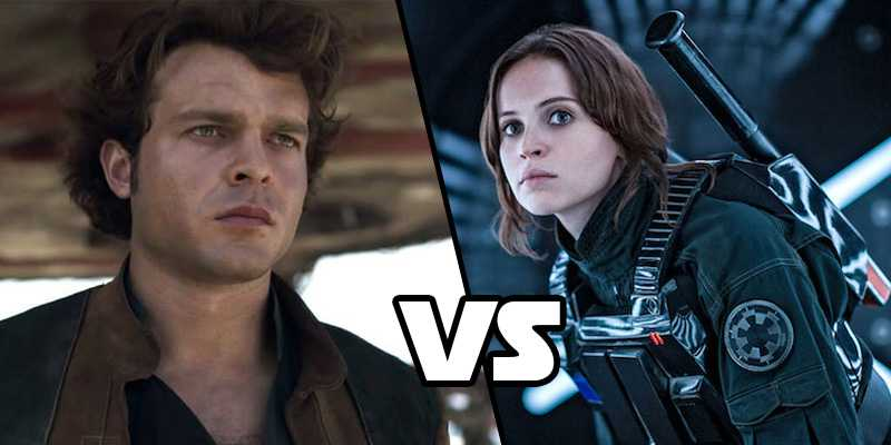 Solo: A Star Wars Story vs Rogue One: A Star Wars Story