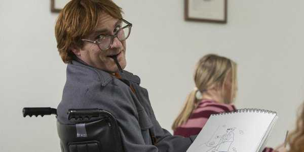 Joaquin Phoenix nei panni di John Callahan