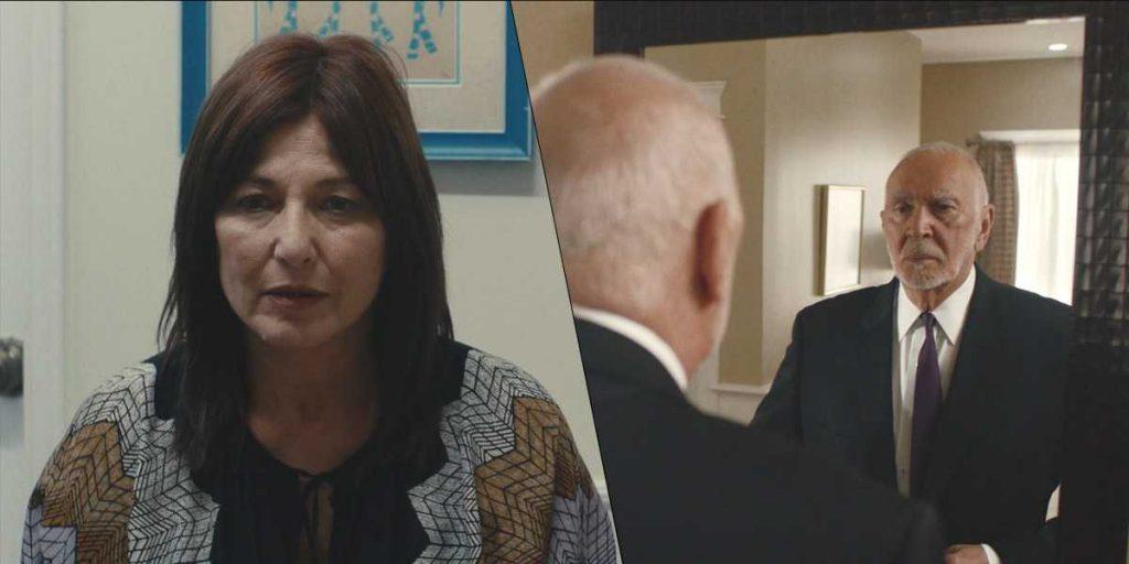 Catherine Keener e Frank Langella Kidding
