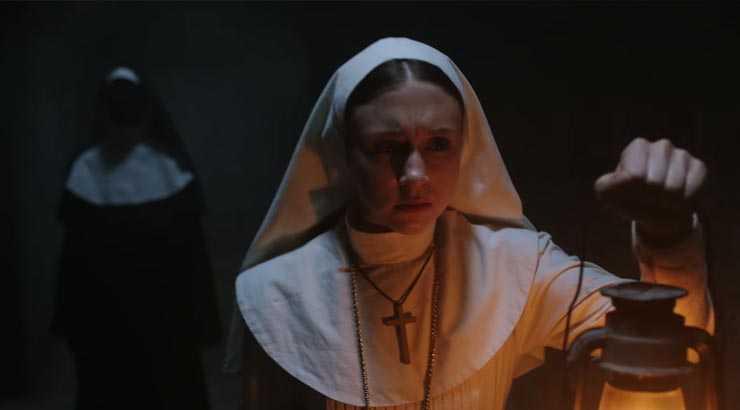 Taissa Farmiga é la suora di The Nun