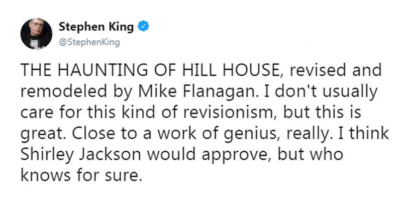 Hill House Stephen King