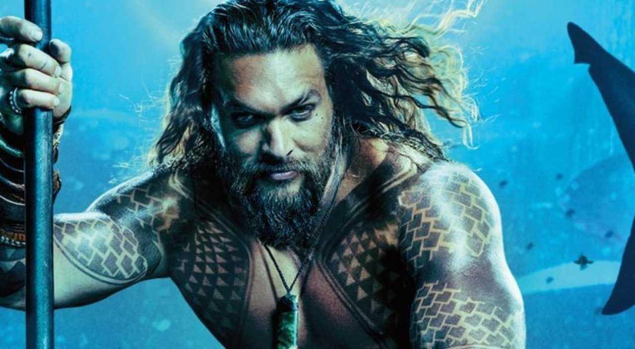 Jason Momoa nei panni di Aquamen Fonte: Cinema