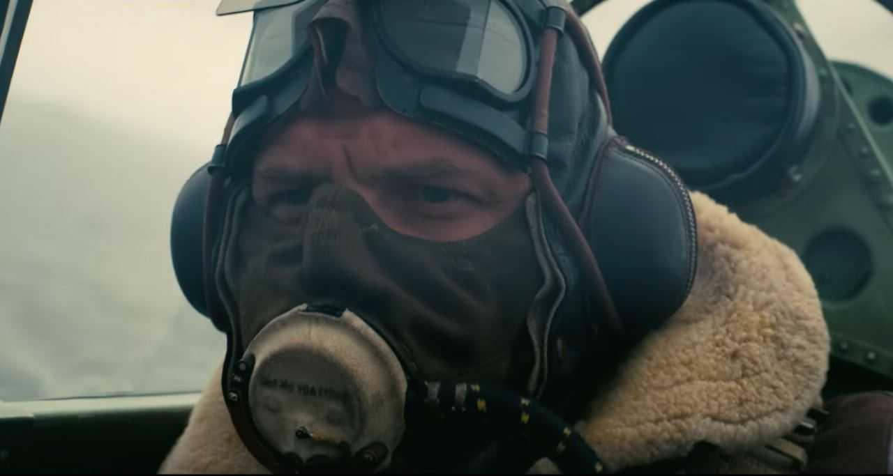 Tom Hardy in una scena Dunkirk