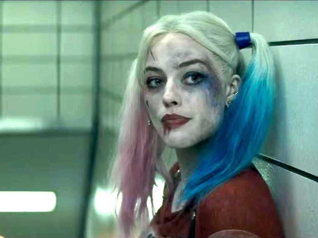 Margot Robbie Harley Quinn in Suicide Squad