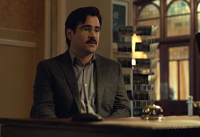 """Colin Farrell in """"The lobster"""""""