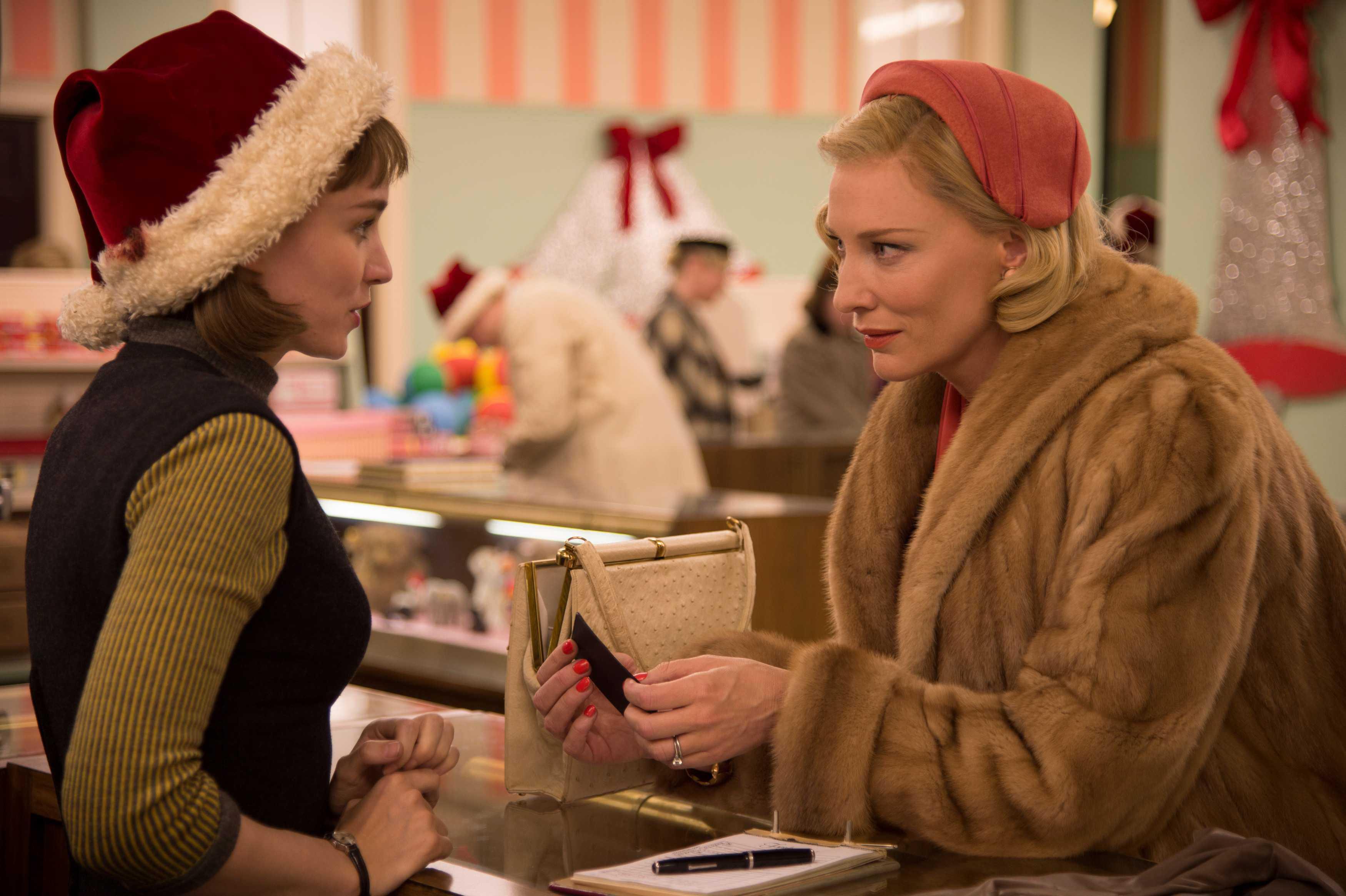 Rooney Mara e Cate Blanchett in una scena del film Fonte: Cultura e Culture