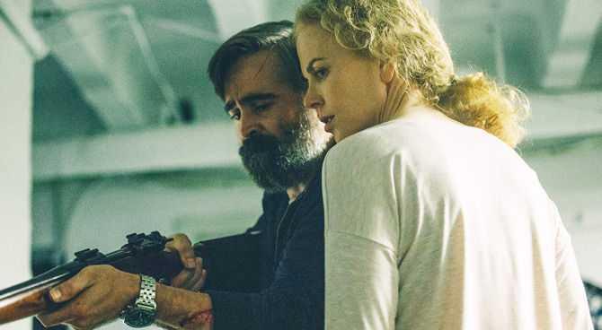 """Colin Farrell e Nicole Kidman nel """"sacrificio del cervo sacro"""""""