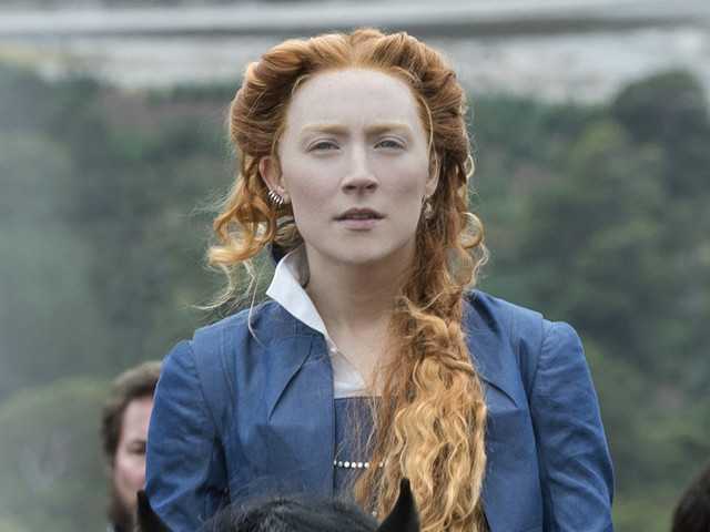 Saoirse Ronan nei panni di Mary Stuart