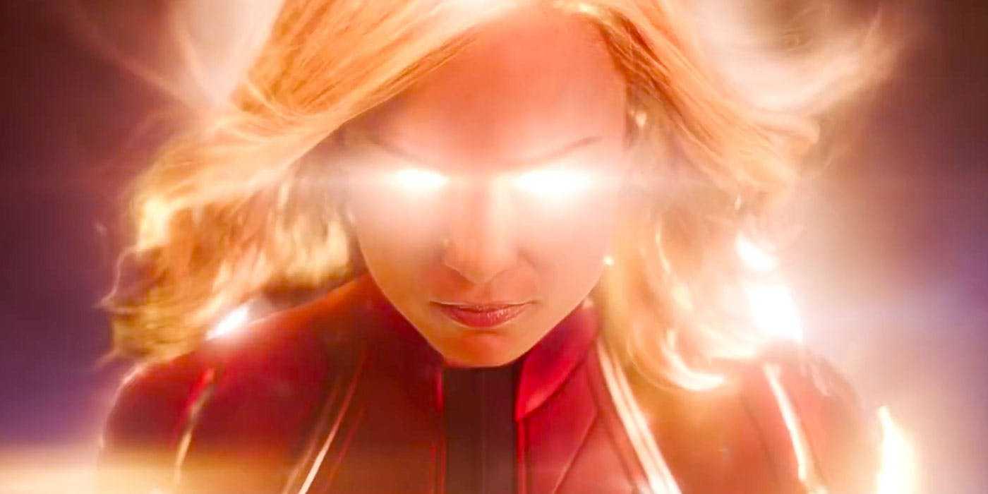 Captain Marvel al pieno di energia