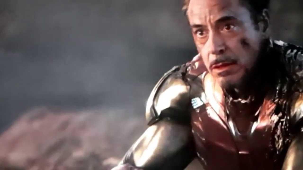 Iron Man dopo lo schiocco