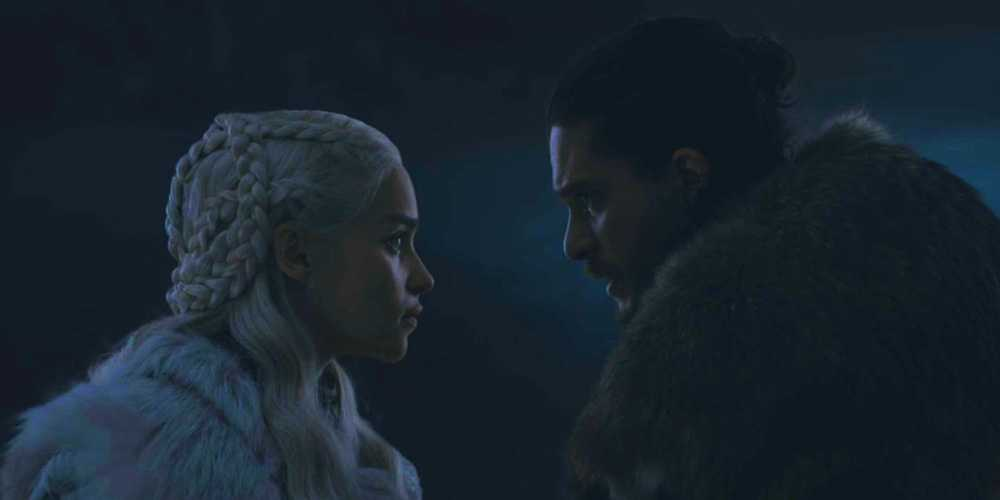 Jon and Daenerys